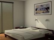 Wizualizacje wnętrz sypialnia