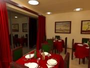 Wizualizacje wnętrz restauracja