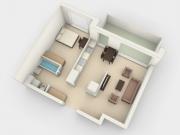 Wizualizacje wnętrz mieszkanie