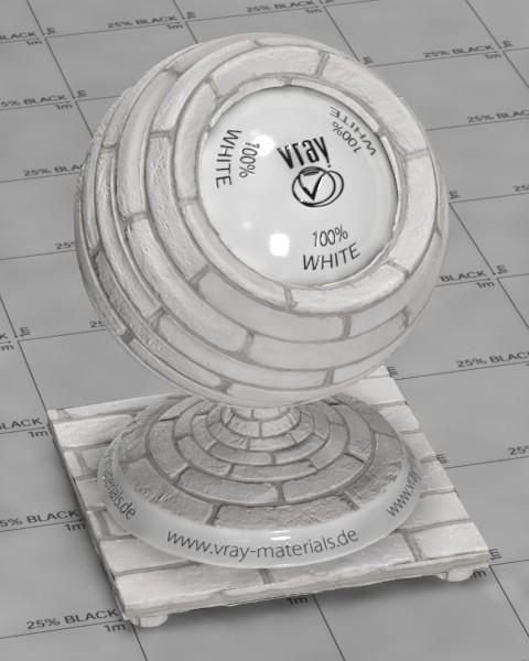 V Ray Blender Material White Brick Wall Bmtfx Com